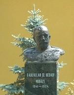 Fadlallah El Hedad Mihály mellszobor
